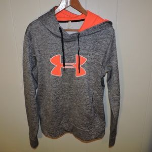 Under Armour Cold Gear Hoodie Storm Large